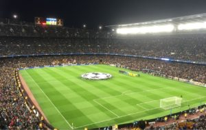 Champions League at the Nou Camp
