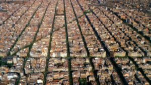 Eixample district from above