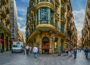 Street in the Gothic Quarter