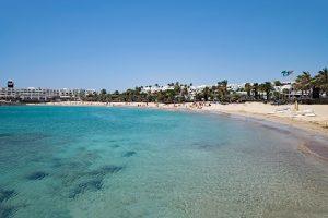 Playa de las Cucharas on Lanzarote
