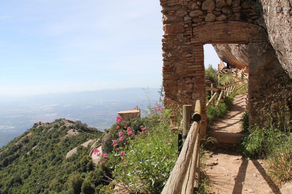 Montserrat walkway