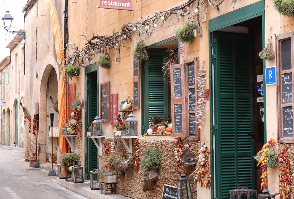 Old Mallorca street