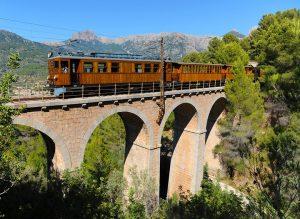 Railway bridge at Soller