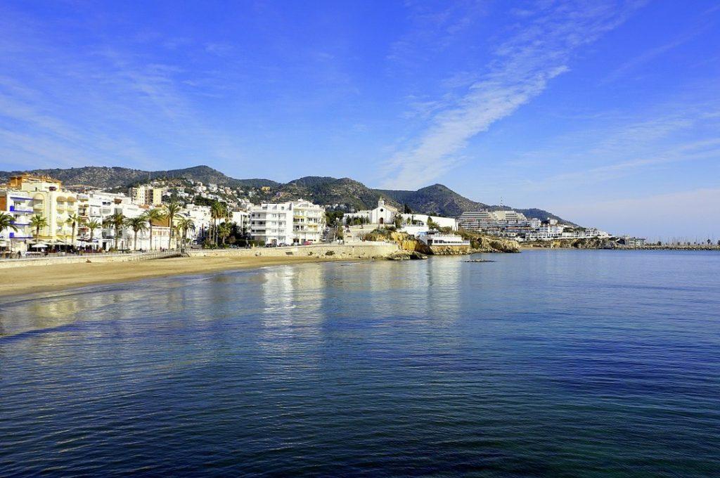 Sitges beachfront