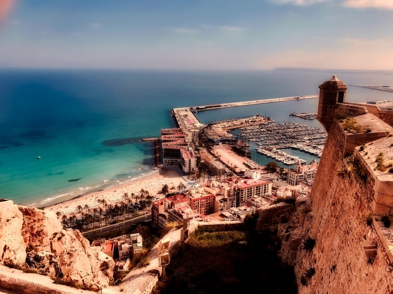 The Alicante seafront