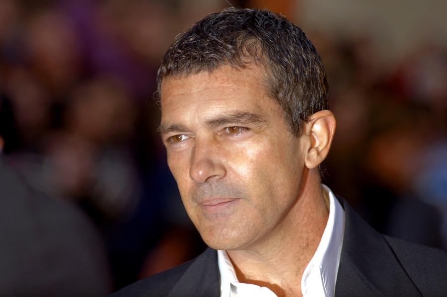 Antonio Banderas at the Malaga Film Festival