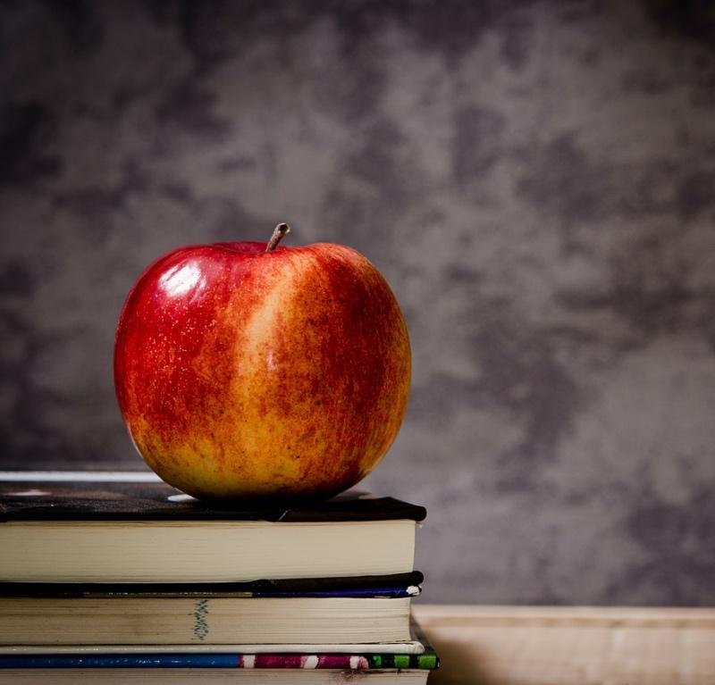 Apple at school