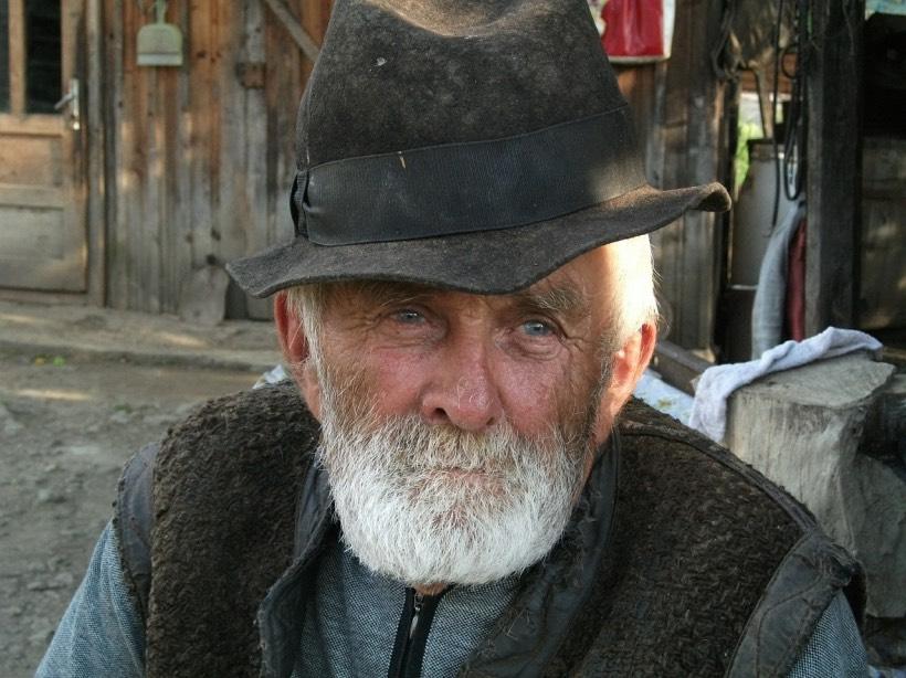 An elderly Spanish farmer