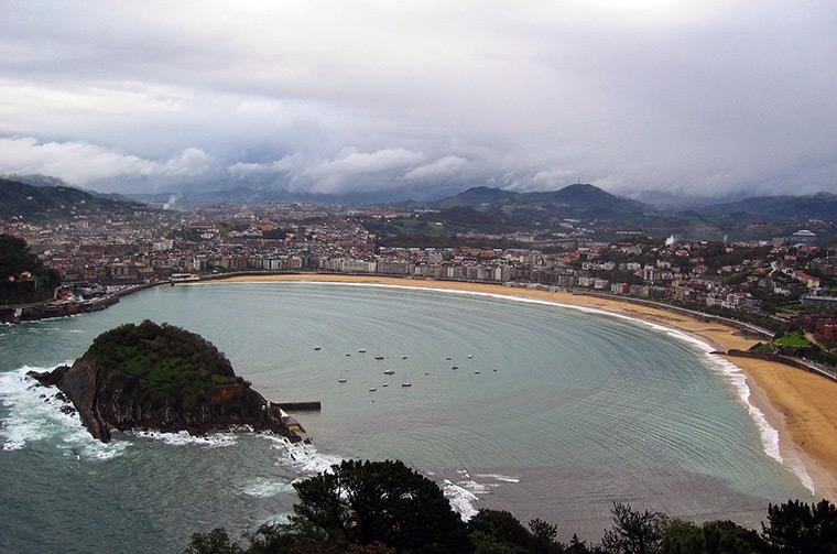 San Sebastian in Northern Spain